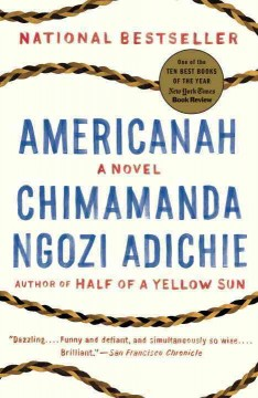 Book jacket for Americanah [BOOK DISCUSSION]