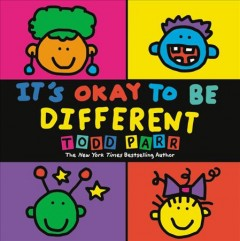Book jacket for It's okay to be different