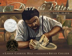 Book jacket for Dave, the potter