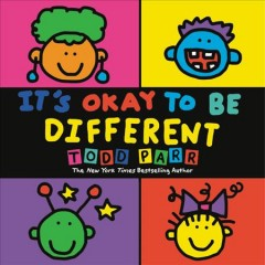 Book jacket for It's okay to be different /