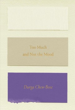 Book jacket for Too much and not the mood /