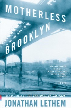 Book jacket for Motherless Brooklyn [BOOK DISCUSSION]