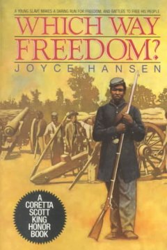Book jacket for Which way freedom?