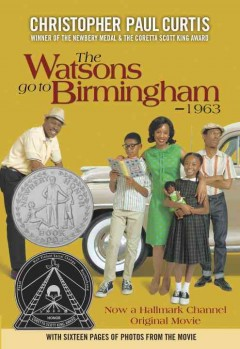 Book jacket for The Watsons go to Birmingham--1963