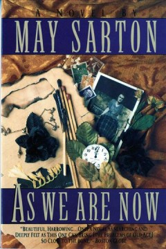 Book jacket for As we are now [BOOK DISCUSSION] : a novel