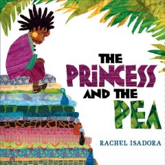 Book jacket for The princess and the pea /