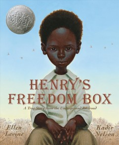 Book jacket for Henry's freedom box
