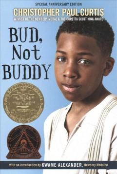 Book jacket for Bud, not Buddy