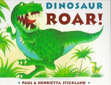 Book jacket for Dinosaur roar! /