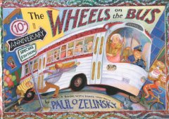 Book jacket for The wheels on the bus /