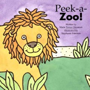 Book jacket for Peek-a-zoo! /