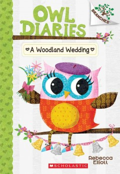 Book jacket for A woodland wedding /