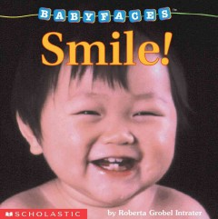 Book jacket for Smile! /