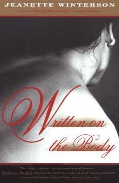 Book jacket for Written on the body