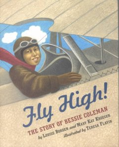 Book jacket for Fly high! : the story of Bessie Coleman