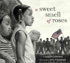Book jacket for A sweet smell of roses