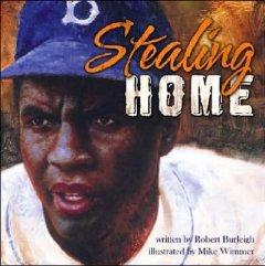 Book jacket for Stealing home : Jackie Robinson against the odds