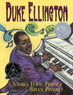 Book jacket for Duke Ellington : the piano prince and his orchestra