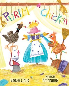 Book jacket for Purim chicken