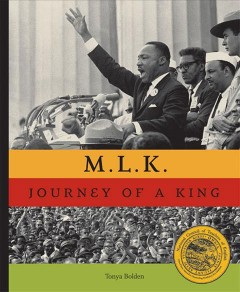 Book jacket for M.L.K. : journey of a King