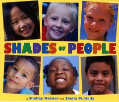 Book jacket for Shades of people /