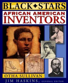Book jacket for African American inventors