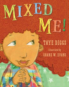 Book jacket for Mixed me /