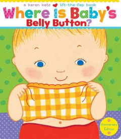 Book jacket for Where is baby's belly button? :