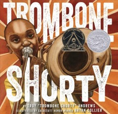 Book jacket for Trombone Shorty