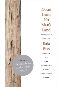 Book jacket for Notes from no man's land [BOOK DISCUSSION] : american essays