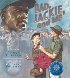 Book jacket for Dad, Jackie, and me