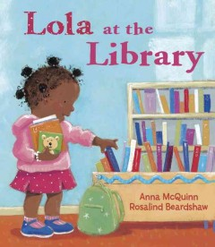 Book jacket for Lola at the library