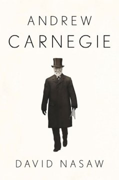Book jacket for Andrew Carnegie