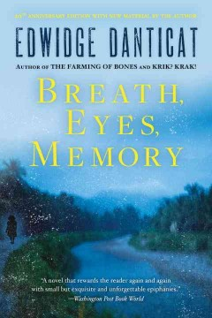 Book jacket for Breath, eyes, memory [BOOK DISCUSSION]