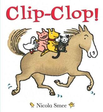 Book jacket for Clip-clop /