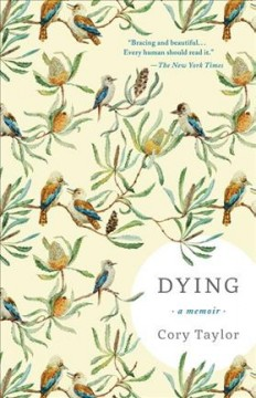 Book jacket for Dying [BOOK DISCUSSION] : a memoir