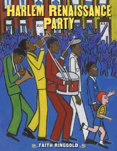 Book jacket for Harlem Renaissance party