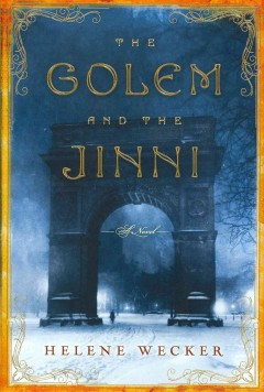 Book jacket for The golem and the jinni :