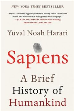 Book jacket for Sapiens [BOOK DISCUSSION] : a brief history of humankind