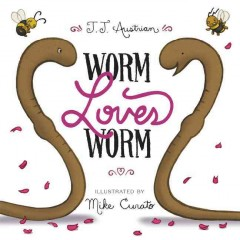 Book jacket for Worm loves Worm /