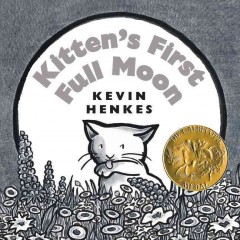 Book jacket for Kitten's first full moon