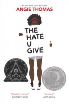 Book jacket for The hate u give