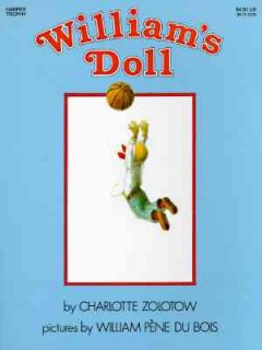 Book jacket for William's doll /
