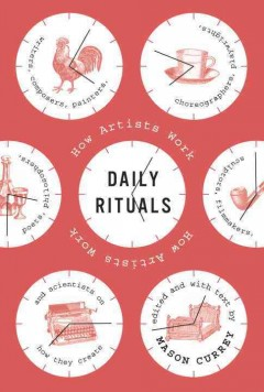 Book jacket for Daily rituals :