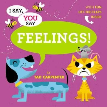 Book jacket for Feelings! /