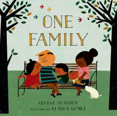 Book jacket for One family /