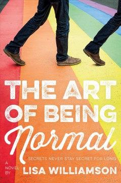 Book jacket for The art of being normal /