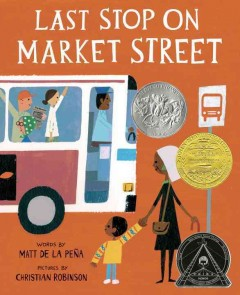 Book jacket for Last stop on Market Street /