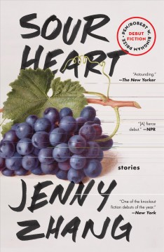 Book jacket for Sour heart : stories