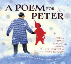Book jacket for A poem for Peter : the story of Ezra Jack Keats and the creation of The snowy day